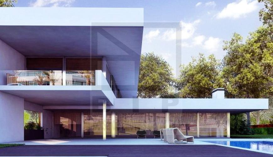 casa moradia luxo em construção