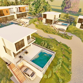 Boliqueime Pata de cima terreno para construção de 5 moradias unifamiliares